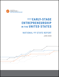 2019 Early-Stage Entrepreneurship National and State Report cover